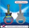 石のギターのカスタム形の金属の栓抜き