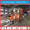Máquina de fabricación de ladrillo concreta del cemento del control automático de Siemens