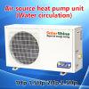 Fonte de Ar da Bomba de calor da unidade do aquecedor de água para aplicação de casa