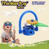Le modèle sensible de panier de fleur badine le connecteur en plastique de bâtiment de jouet d'éducation