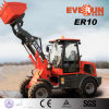 Tipping Cabin를 가진 Qingdao Everun Er10 Mini Grass Forks Front Loader
