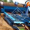 沖積採鉱機械移動式トロンメルスクリーンおよび水門ボックス