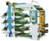 Machine d'impression de Flexo de 4 couleurs pour le roulis et le film de papier de PE du constructeur