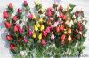 Cheap Wholesale Rosa de alta calidad de Flores Artificiales para decoraciones de Bodas de cuento de hadas