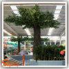 Decoração de jardim de alta qualidade planta artificial Bayan Ficus Tree