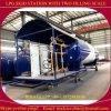 5-120 Cbm che cucina la stazione di servizio di pattino del serbatoio del gas GPL