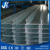 Correa galvanizada de acero de la estructura de acero C de la fabricación del material de construcción