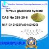 ferrosos CAS gluconato de hidratos No 299-29-6