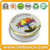 Rundes verpackendes/Blechdose/Zinn-Kasten Nahrungsmittelmetallzinn