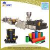 Cadena de producción acanalada del estirador del tubo de la pared doble del plástico HDPE/PVC