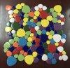 2017 azulejos de mosaico de cerámica redondos