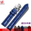 Cinturino classico italiano del cinturino del cuoio genuino 22mm del vitello Yxl-453 per gli uomini