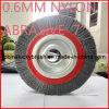 7 щетка истирательного колеса дюйма 6mm Nylon (YY-236)