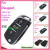 Verre Sleutel voor Peugeot 307 met 3 Knoop 433MHz Ds 0536