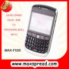 F026 4 téléphone portable QWERTY chaud de Java de boule roulante de la bande 2 SIM TV WiFi