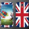 Het Glanzen LCD van Union Jack de Beschermer van het Scherm van de Speler voor de Melkweg van Samsung S4