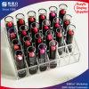 Crémaillère d'étalage acrylique de rouge à lievres de 30 PCS
