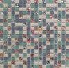 Mosaico di vetro usato parete della stanza da bagno (CFC309)