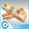 Gusset latéral Paper Bread Bag avec Transparent Window