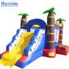 Castillo de salto con la diapositiva, diapositiva inflable de la gorila animosa inflable