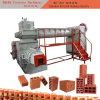 固体空の穴があいた煉瓦のための赤い粘土の煉瓦作成機械