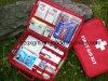 Горячая продажа поездки переносные Hand-Held медицинские комплекты первой помощи медицины комплект портативных упорядочивать большое количество таблеток для хранения