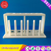 Portoir pour tubes à essai de laboratoire de matériau plastique