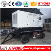 1104c-44tag2 gerador Diesel do reboque móvel do motor 4wheels 100kVA 110kVA com Perkins