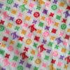 毛布またはクッションのためのマイクロVelboaか極度の柔らかいビロードまたはMinkyの点
