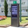Multi OpenluchtLCD van de Kiosk van de Totem van Brighness 3G 4G WiFi van de Functie Hoge Vertoning