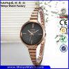 ODM-Form-beiläufige Uhr-Legierungs-Quarz-Dame-Armbanduhren (Wy-071E)