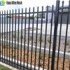 Neue Produkt-Stangen-Oberseite galvanisierte dekorative bearbeitetes Eisen-Zaun-Panels