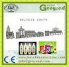 Automática completa de la planta de procesamiento de leche de soja