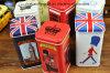 El Té de estilo británico tin box