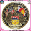 Metallo 3D Challenge Coin con Antique Color