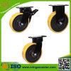 Gute Qualitätshochleistungs-PU-Fußrolle