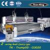G4020陶磁器の研摩のWaterjet打抜き機