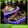 Flügel-Blitz-Jungen-Mädchen-Sport-Schuh-leuchtende Schuhe der neuen Kinder