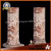 Colonne di marmo di tramonto, colonne romane della decorazione per la decorazione