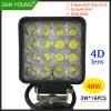 4D indicatore luminoso di funzionamento dell'indicatore luminoso di nebbia dell'indicatore luminoso di azionamento del faro LED dell'obiettivo 48W LED LED LED