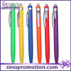 Stylo à bille en plastique à couleur fluorescente Click Advertising Stylo à bille