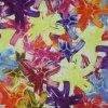 Élevé-densité PVC/PU Flower Printing Polyester Fabric (KL-02) d'Oxford 600d