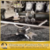 French Design Preço de atacado Black Marble Coffee Table Set
