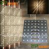 luz de oro de la pared de la matriz de la viga del color LED de 49PCS 3W