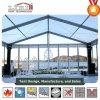 15X15m Tenda da restauração com teto transparente e os lados