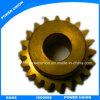 Messing-Hardware CNC-maschinell bearbeitenmaschinerie-Teil-Übertragungs-Fahrwerk
