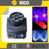 El club de noche enciende la luz móvil del disco del ojo LED de 6PCS B