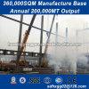 Nenhuma poluição metálica da estrutura do prédio da Engenharia de precisão