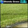 20mmの緑色の140stitch景色の人工的な草