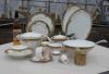 POT del tè di 68 PCS fatto in oro di Cina di osso 24k